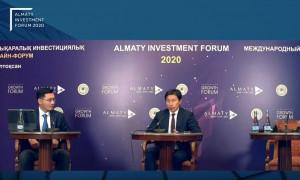 В мегаполисе открылся Almaty Investment Forum 2020
