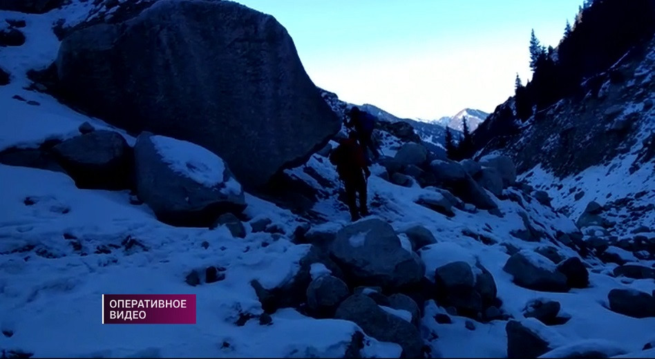 В Алматы спасли альпиниста, пропавшего в горах