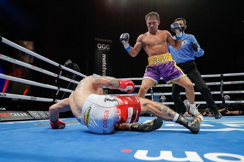 Геннадий Головкин нокаутировал Шеремету и установил рекорд