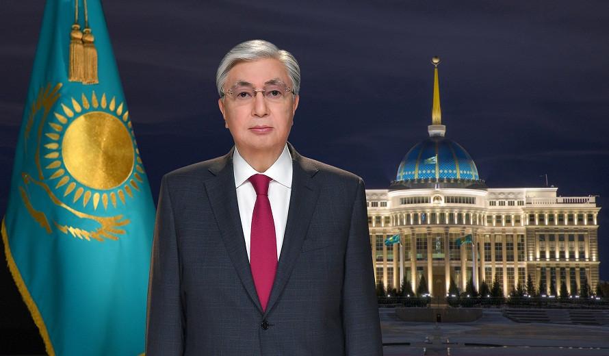 Касым-Жомарт Токаев поздравил казахстанцев с Новым годом