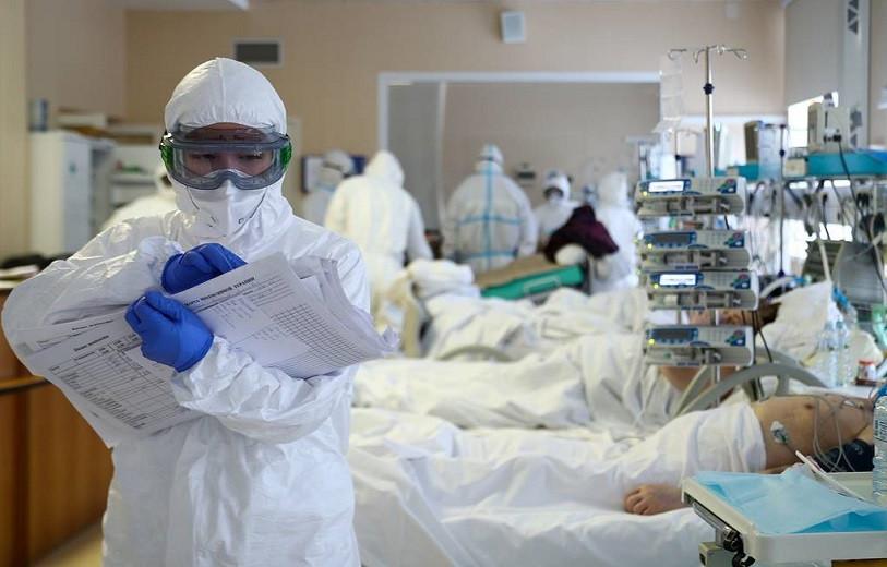 Более 500 человек скончались от коронавируса за сутки
