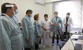 Сенаторы ознакомились с работой перинатального центра в Алматы