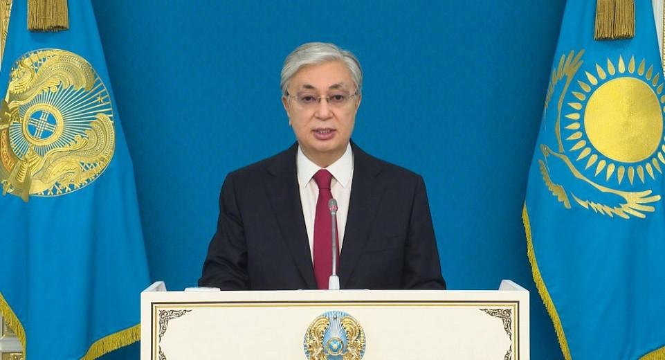 Президент РК выступит с обращением 15 января