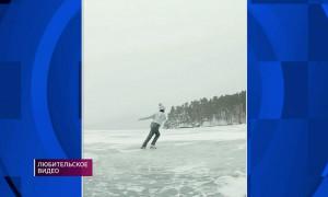 Элизабет Турсынбаева исполнила танец на льду под песню Димаша Кудайбергенова
