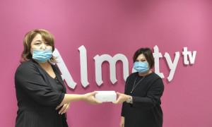 Победители конкурса от Almaty.tv получили ценные призы