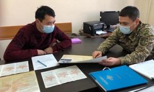 В Алматы идет набор на воинскую службу по контракту