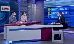 Ернур Абжахан ответил на вопросы алматинцев