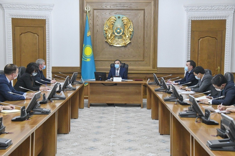 Ержан Бабакумаров провел совещание по вопросам деятельности проектного офиса «Алматы – адалдық алаңы»