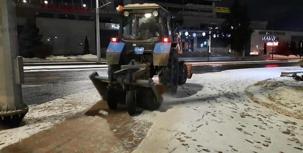 В Алматы выпало до 5 см снега