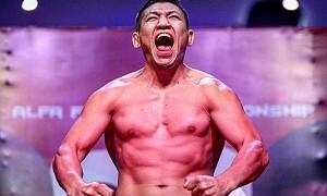 Куат Хамитов отправил в жесткий нокаут соперника на турнире AMC Fight Nights