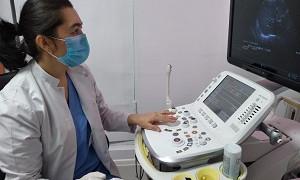 В НИИ кардиологии и внутренних болезней ввели в эксплуатацию уникальный УЗИ аппарат премиум класса Hitachi Аloka Arietta