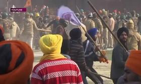 Индийские фермеры устроили митинг против аграрной политики