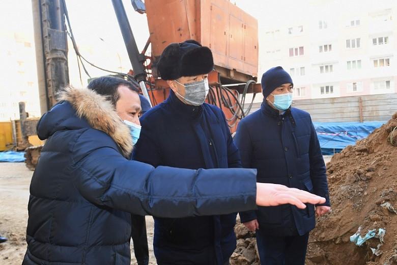 Б. Сагинтаев рассказал о решении проблем жителей микрорайонов Зердели и Нуркент