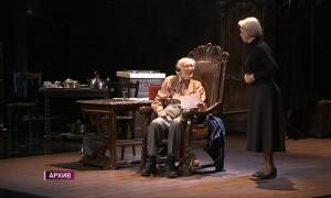 По-прежнему на сцене в 98 лет: легендарный актер театра и кино Юрий Померанцев празднует день рождения