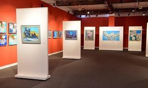 В Алматы открылась выставка известной художницы Анары Абжановой