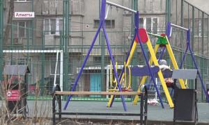 Дворовые территории Алмалинского района Алматы благоустроены на 90%