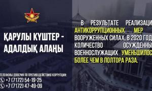 В Алматинском гарнизоне обсудили вопросы противодействия коррупции