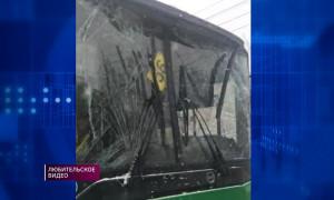 Столкновение двух автобусов: пострадал пассажир