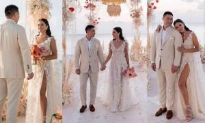 Как в сказке: украинская телеведущая вышла замуж за казахского бизнесмена на Мальдивах