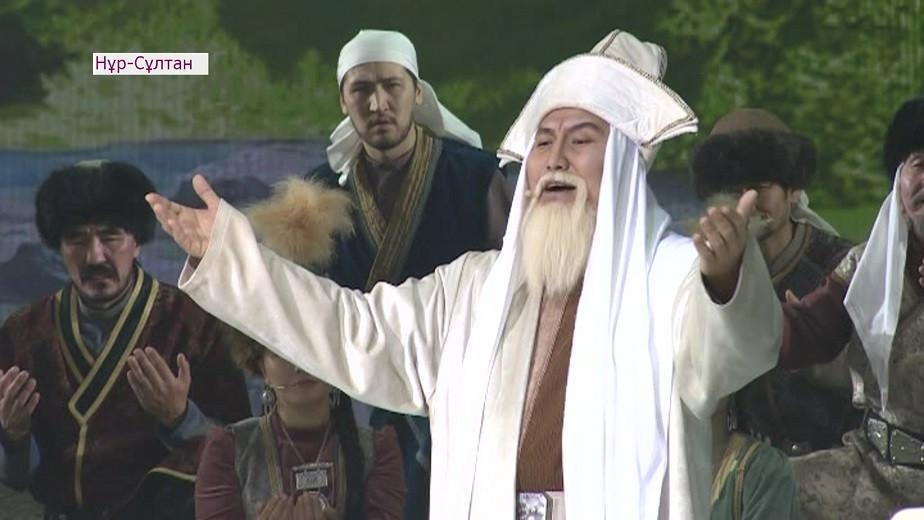 Праздничный концерт в честь 175-летия Жамбыла Жабаева состоялся в Нур-Султане