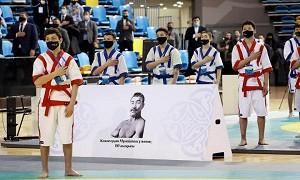 Елордада қазақ күресінен Қазақстан чемпионаты өтті