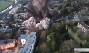 Бомбу времен Второй мировой войны подорвали в Англии