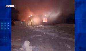 Шестилетний ребенок погиб при пожаре в Северо-Казахстанской области