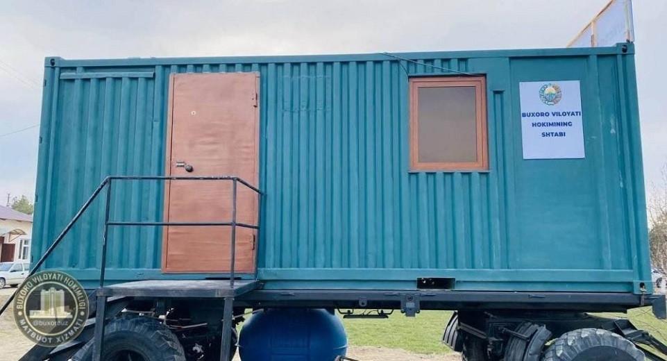 Еще ближе к народу: акимы Узбекистана переезжают в контейнеры на колесах