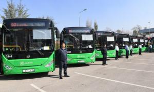 Порядка 400 экологически чистых автобусов планируют закупить автопарки Алматы