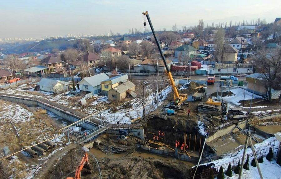 Б. Сагинтаев ознакомился с ходом реализации инфраструктурных проектов