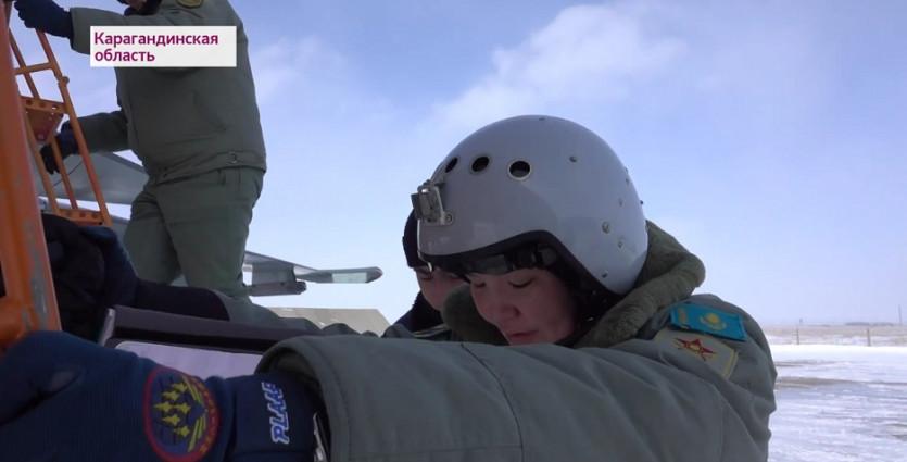 Нежные и красивые, отважные и боевые - казахстанские женщины-военные