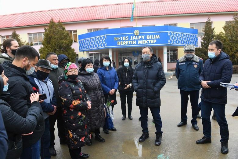 Б. Сағынтаев: Жаңа Алматы тұрғындарының мәселесімен арнайы комиссия айналысады