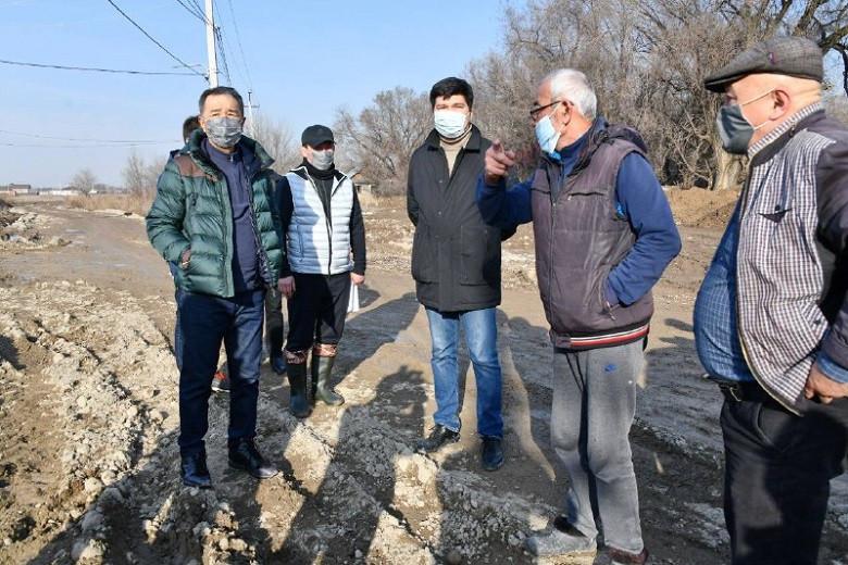Түрксіб ауданының ықшамаудандарында орталық сумен жабдықтау іске қосылады