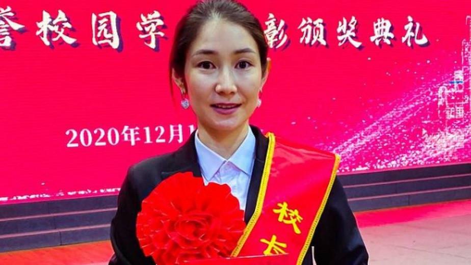 Қазақстандық Жаннұр Ниязбекова Қытайдың үздік студенті атанды