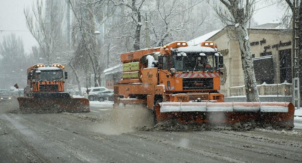 Алматинцев ожидают сильные дождь и снег: акимат обратился к автомобилистам