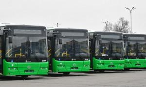 Алматының коммуналдық паркі газбен жүретін жаңа 37 автобуспен толықты