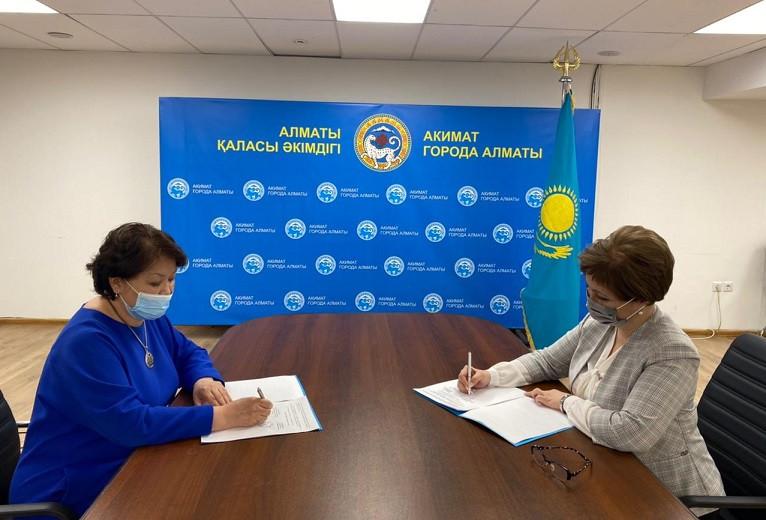 Акимат Алматы, производители и торговые сети договорились сдерживать цены на продукты питания