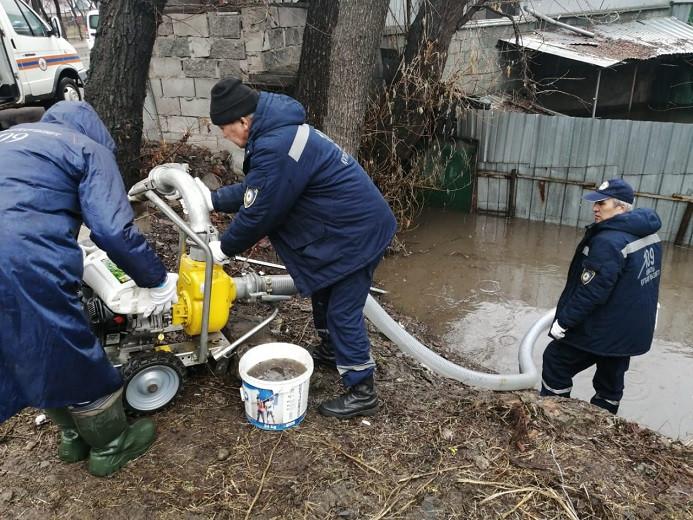Противопаводковая ситуация в Алматы на контроле у городских служб