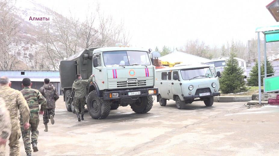 Предотвратить и устранить: службы ЧС Алматы усилили работу в горных районах