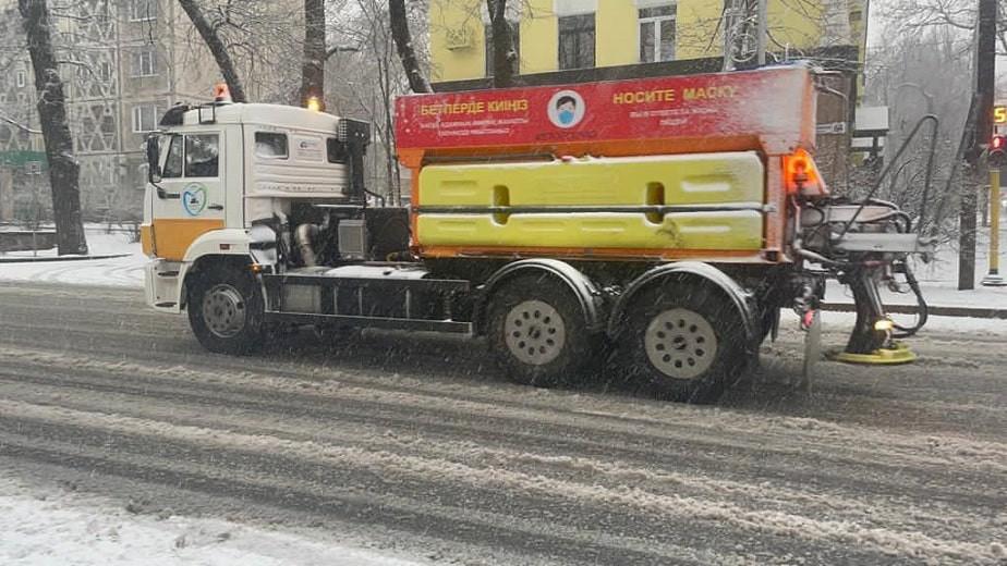 Алматы бойынша 2 сәуірдегі қар тазалау туралы ақпарат