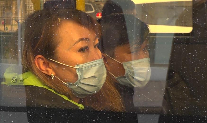 Штраф в 87 тысяч тенге грозит нарушителям масочного режима в общественном транспорте Алматы