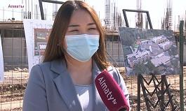 Жаңа Алматы: қаланың шеткі аудандарында әлеуметтік нысандардың құрылысы қарқынды жүріп жатыр