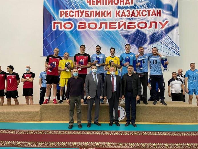 Бақытжан Сағынтаев «Буревестник» волейбол командасын Қазақстан чемпионатындағы жеңісімен құттықтады