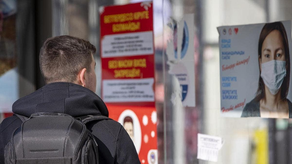 """Коронавирус в Казахстане: Шымкент приблизился к границе с """"красной"""" зоной"""
