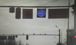 Необычный дорожный знак появился в Алматы
