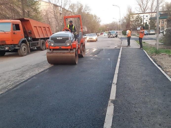 На 37 улицах Алматы планируется ремонт дорог 15 апреля