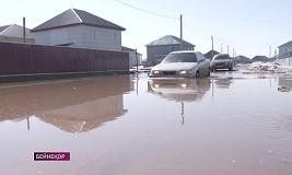 Паводки в Казахстане: 46 домов оказались подтоплены