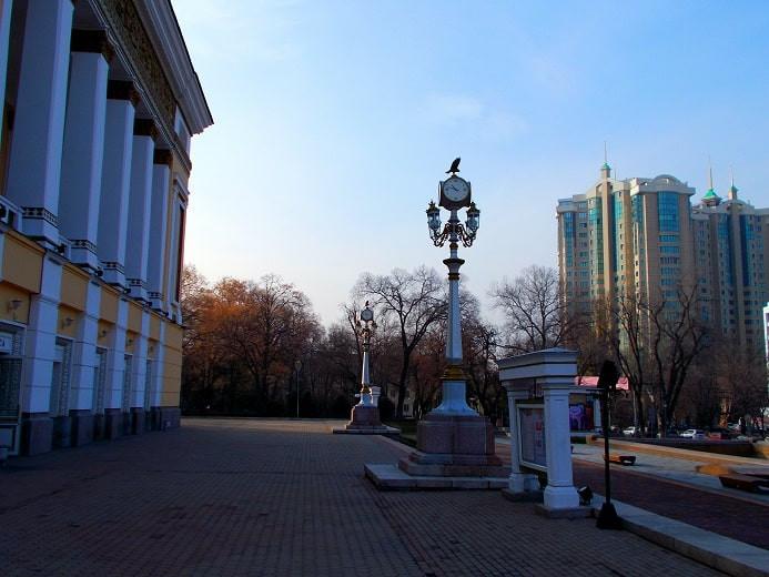 Погода в Алматы с 19 по 25 апреля 2021