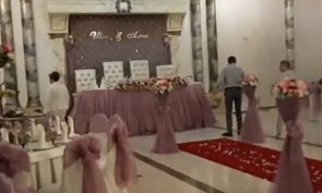 В Алматы прервали проведение свадьбы на 60 человек до начала мероприятия
