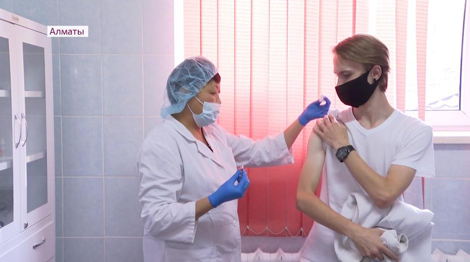 COVID-19 в Алматы: за сутки в мегаполисе получили вакцину 3 050 человек